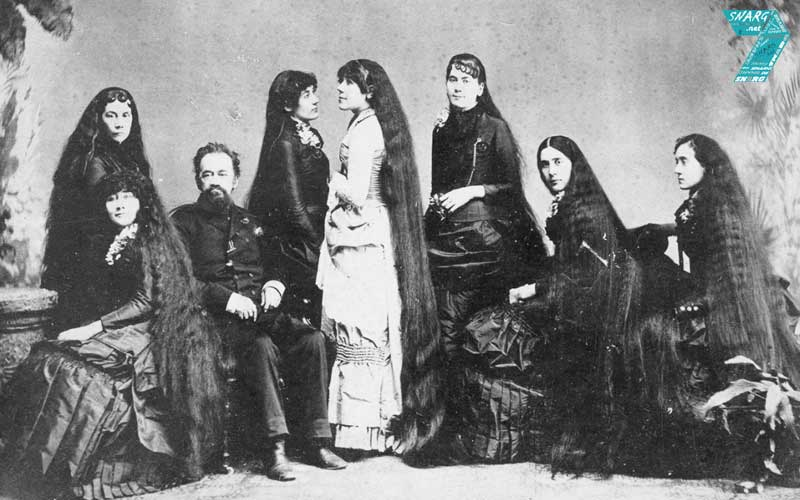 Seven Sutherland Sisters